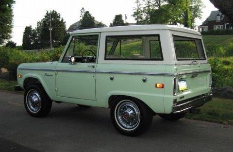 Ford Bronco 1973 foto - 1