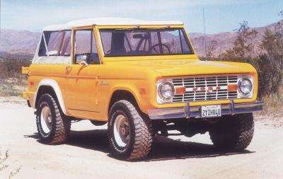 Ford Bronco 1974 foto - 1