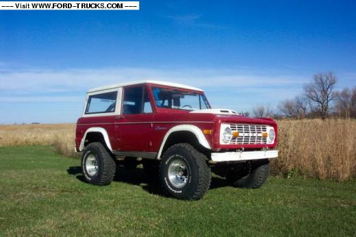 Ford Bronco 1975 foto - 2
