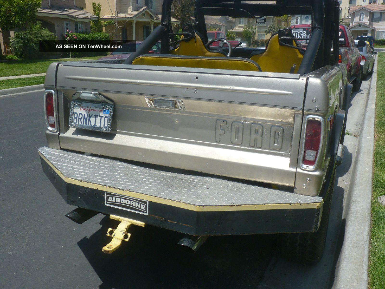 Ford Bronco 1975 foto - 5
