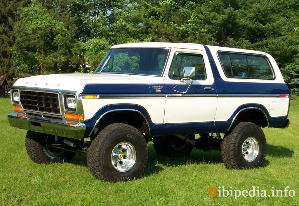 Ford Bronco 1979 foto - 2