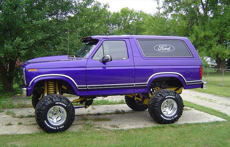 Ford Bronco 1983 foto - 2