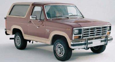 Ford Bronco 1985 foto - 1