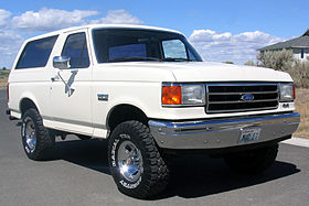 Ford Bronco 1987 foto - 2