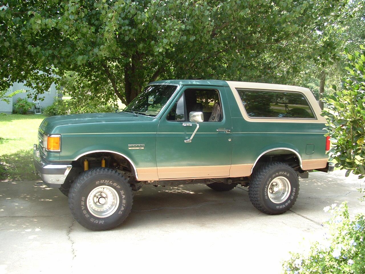 Ford Bronco 1989 foto - 3