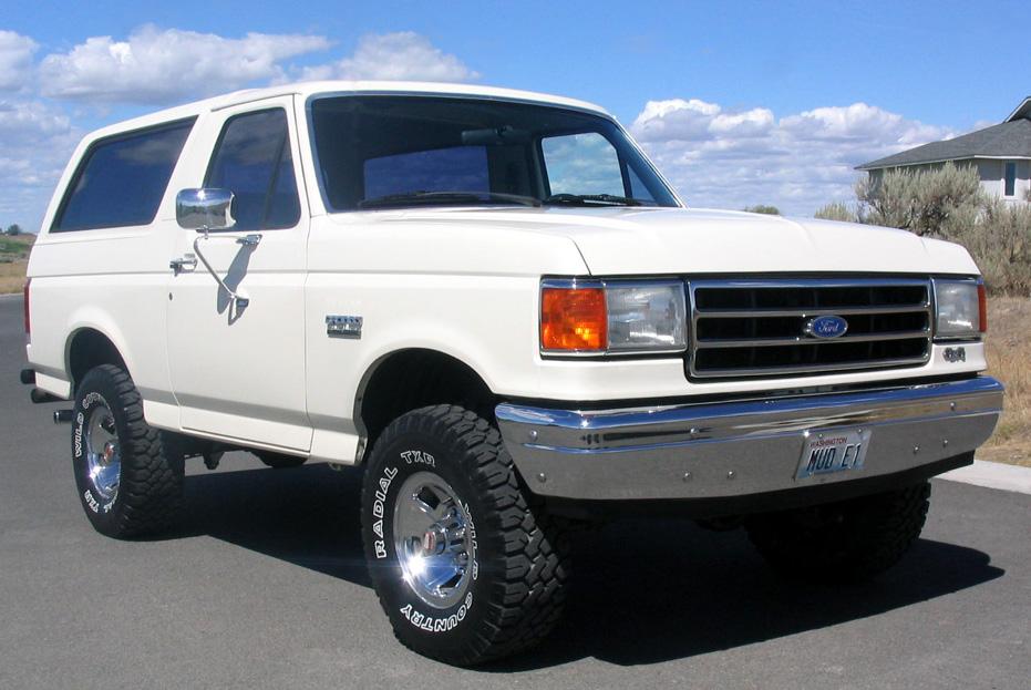 Ford Bronco 1990 foto - 3