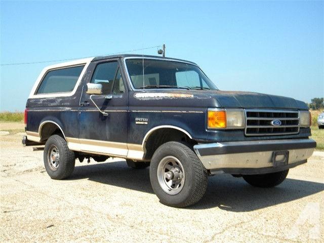 Ford Bronco 1990 foto - 5