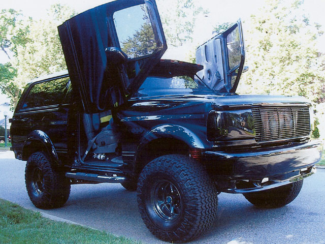 Ford Bronco 1991 foto - 2