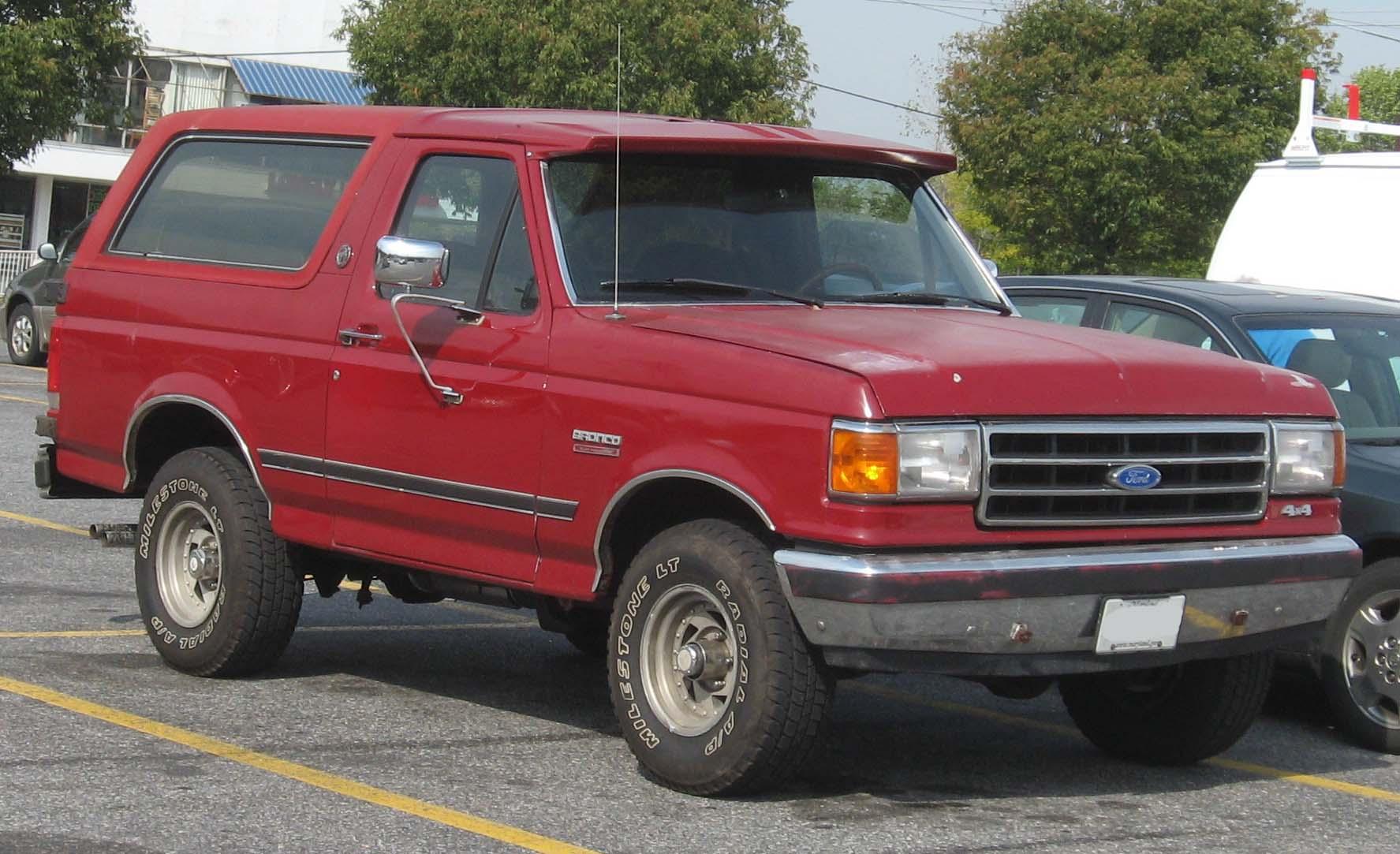 Ford Bronco 1991 foto - 4