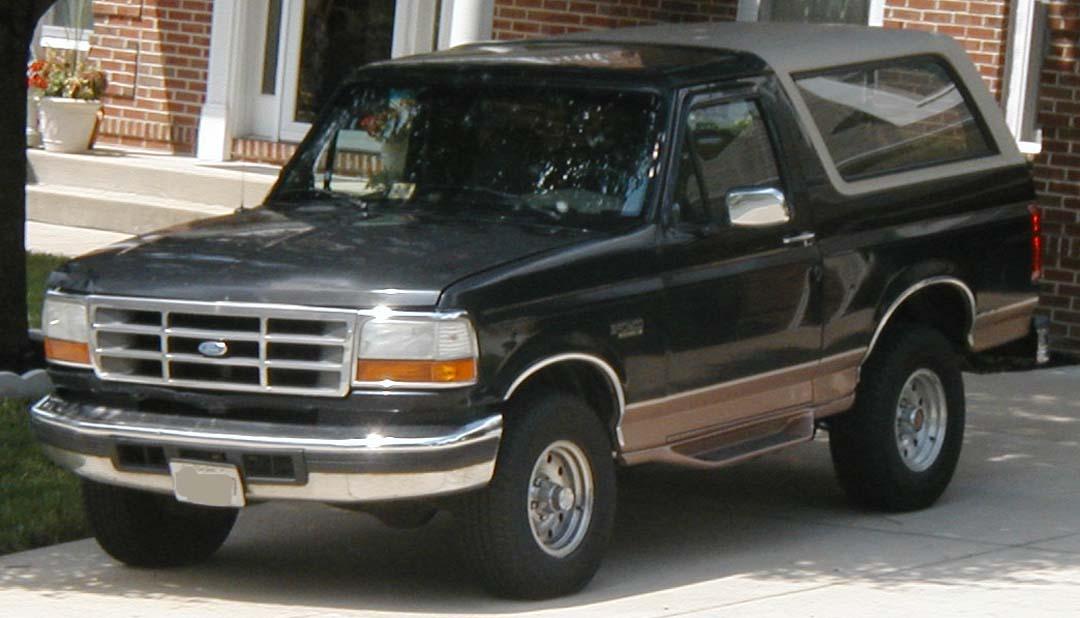 Ford Bronco 1992 foto - 1