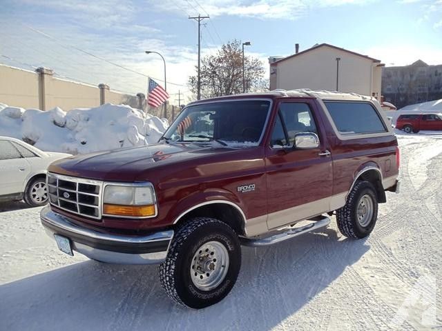 Ford Bronco 1992 foto - 3