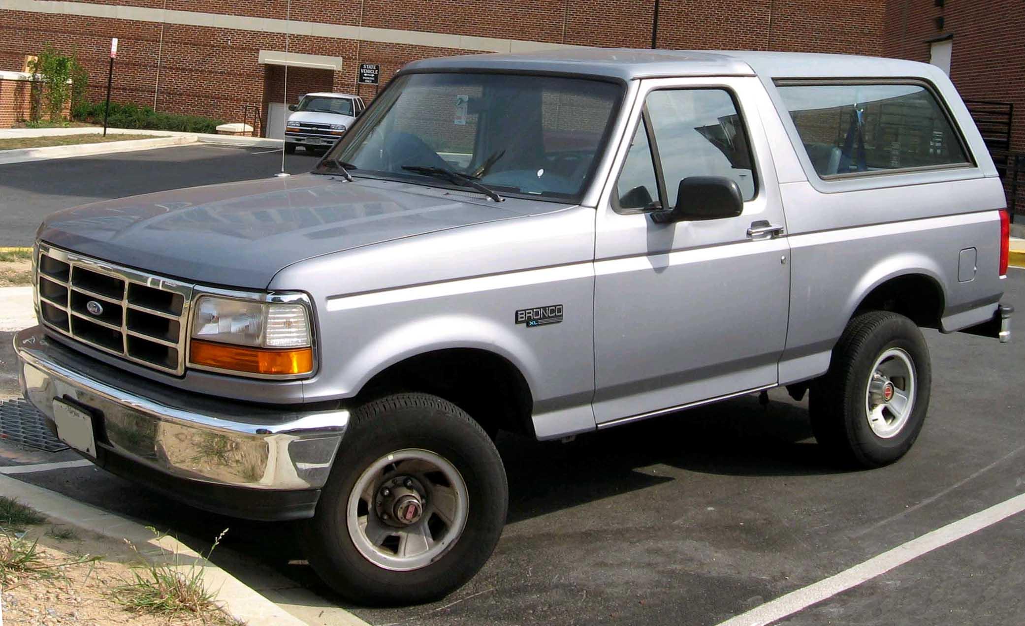 Ford Bronco 1992 foto - 4