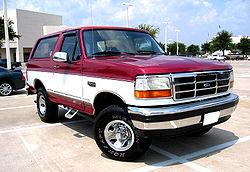Ford Bronco 1997 foto - 1