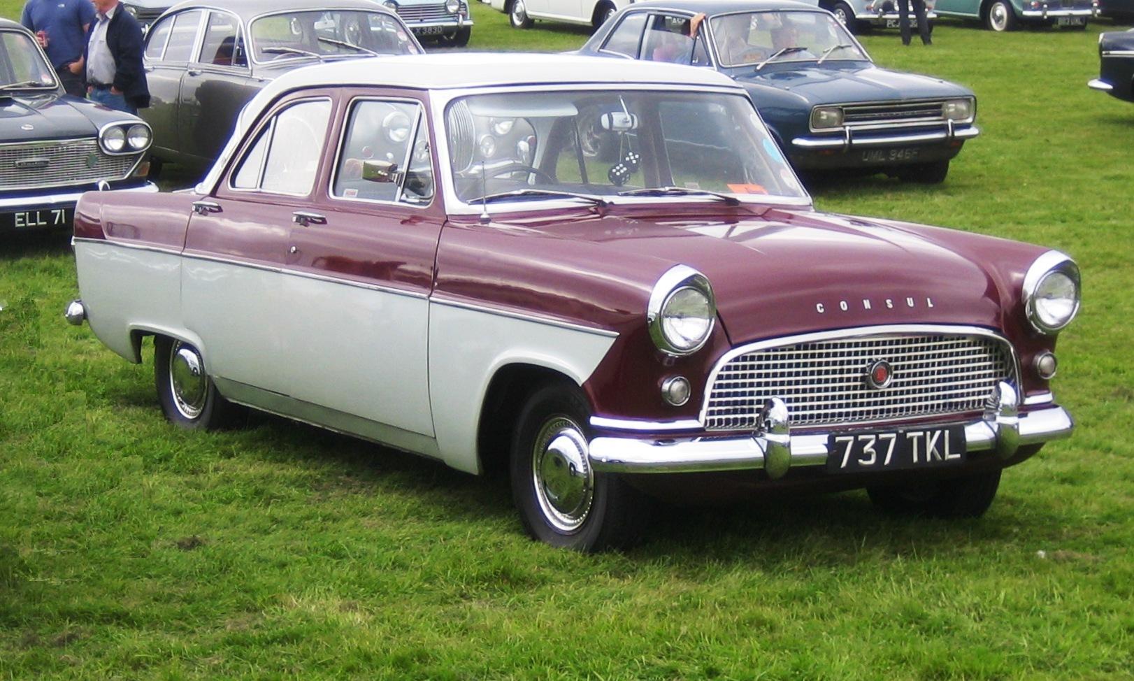 Ford Capri 1962 foto - 2