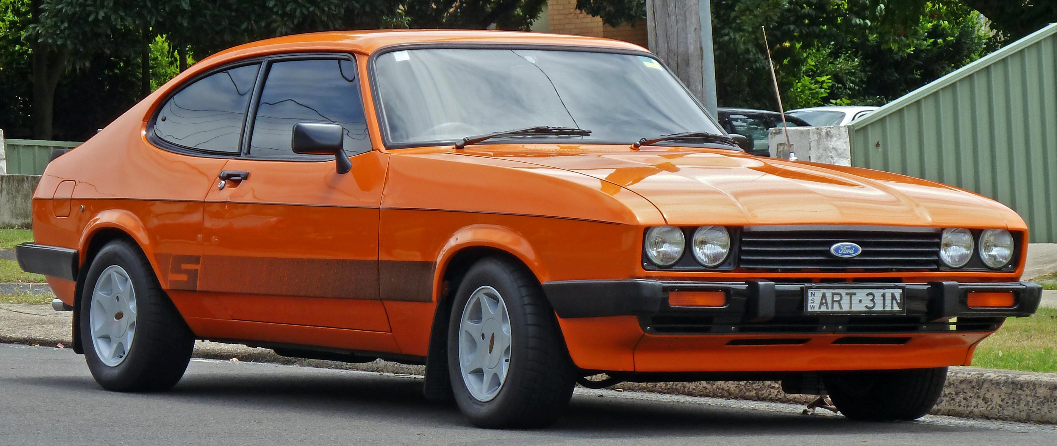 Ford Capri 1983 foto - 4