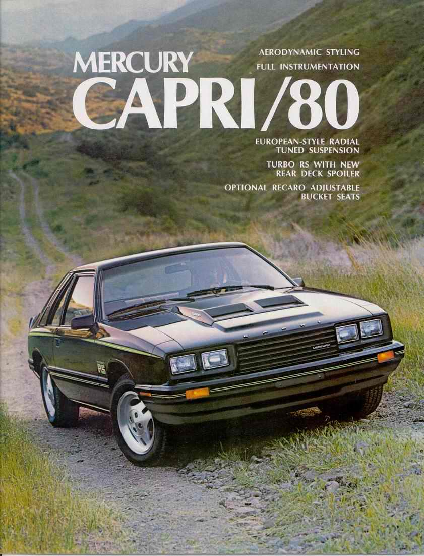 Ford Capri 1986 foto - 1