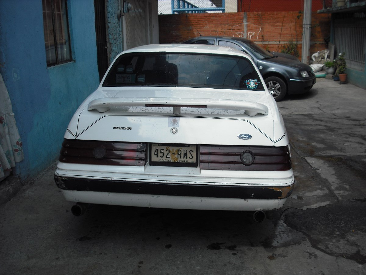 Ford Cougar 1985 foto - 5
