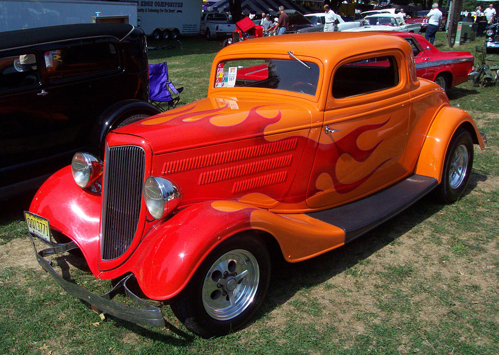 Ford Coupe 1934 foto - 2