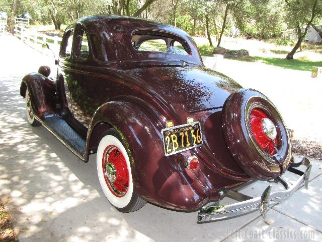 Ford Coupe 1935 foto - 1