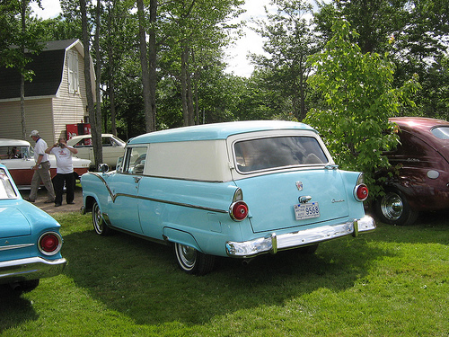 Ford Courier 1956 foto - 2