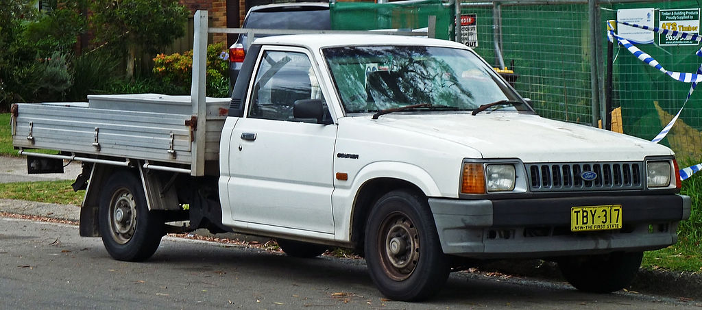 Ford Courier 1990 foto - 5