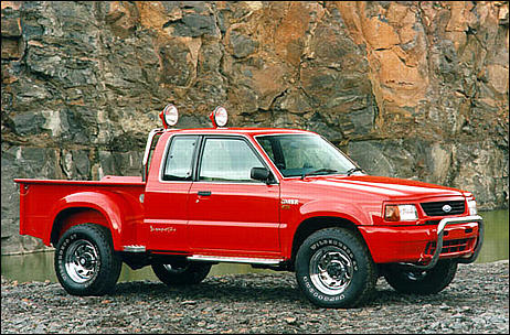 Ford Courier 1998 foto - 5