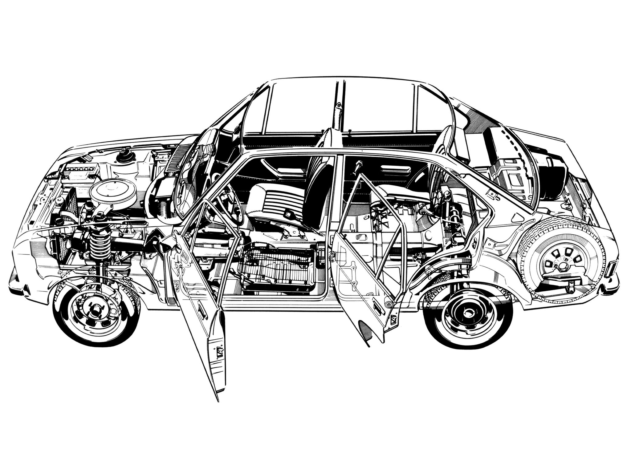 Ford Escort 1977 foto - 5