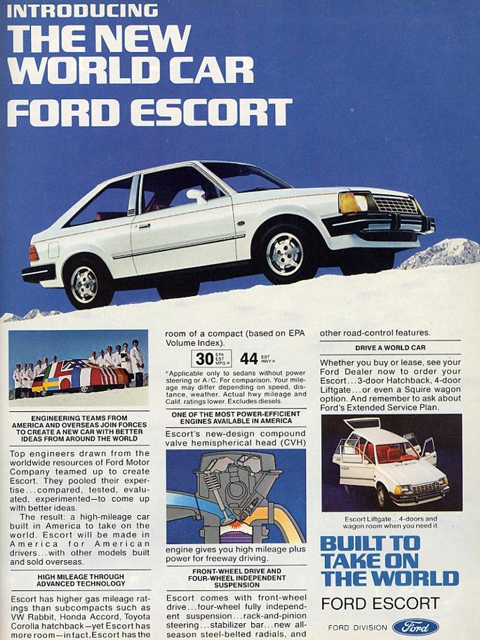 Ford Escort 1990 foto - 5