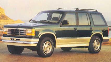 Ford Explorer 1990 foto - 1