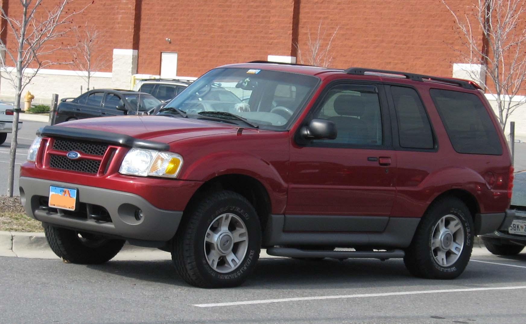 Ford Explorer 2002 foto - 1