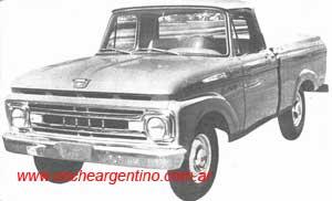Ford F-100 1961 foto - 2