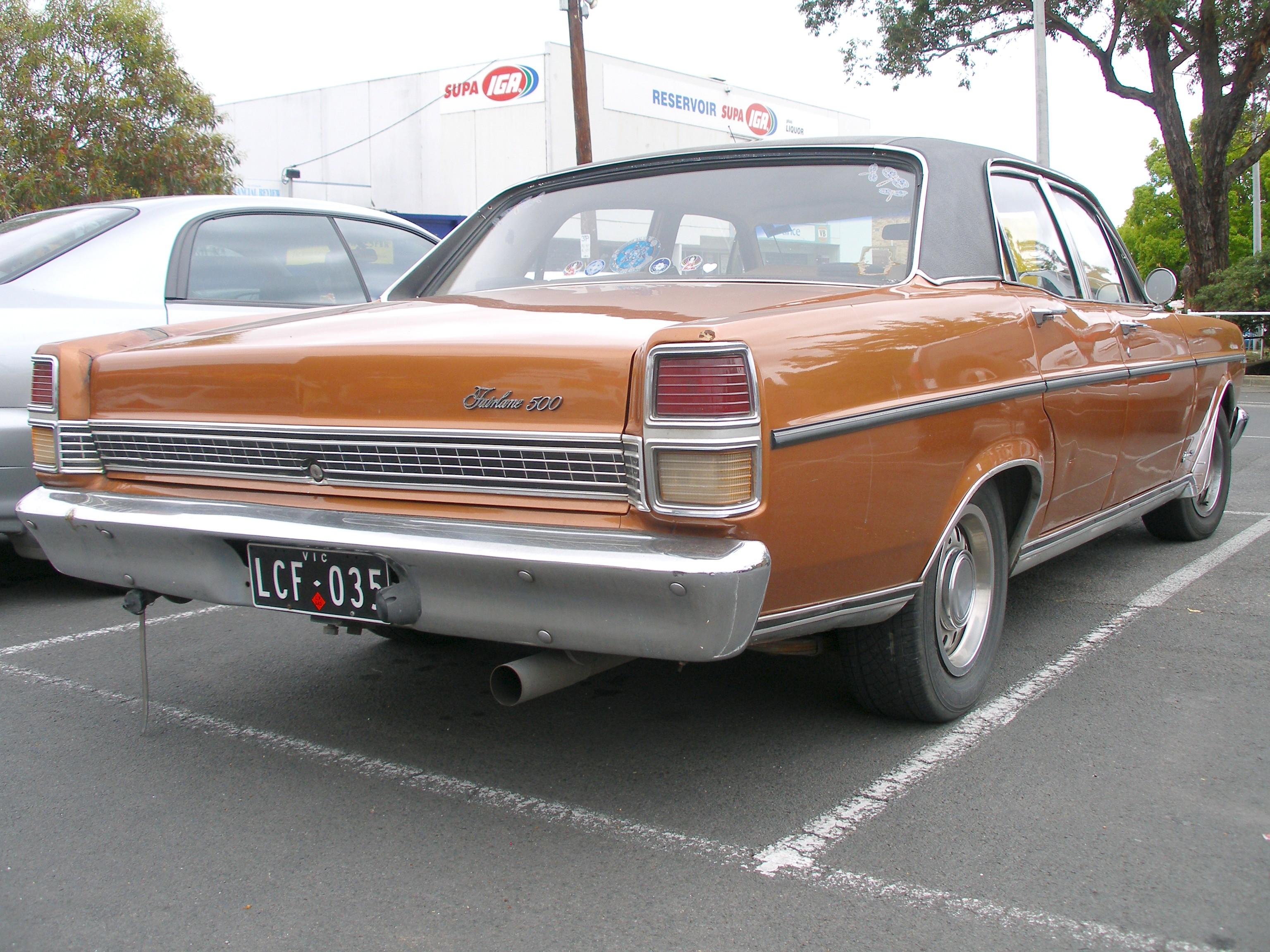 Ford Fairlane 1972 foto - 4