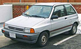 Ford Festiva 1990 foto - 5
