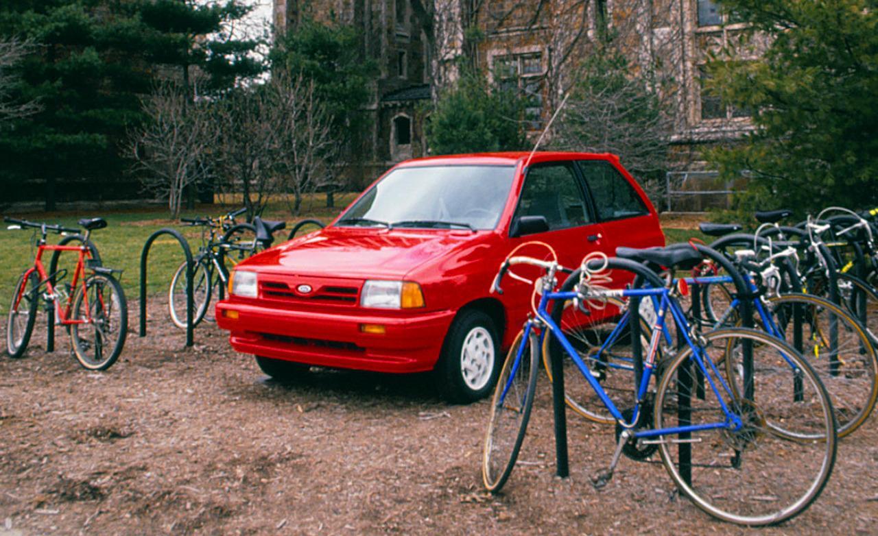 Ford Festiva 1991 foto - 4