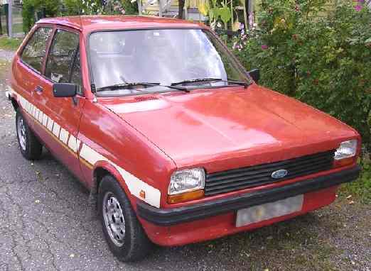 Ford Fiesta 1980 foto - 1