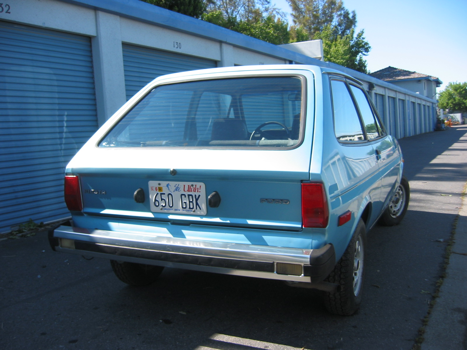 Ford Fiesta 1980 foto - 4