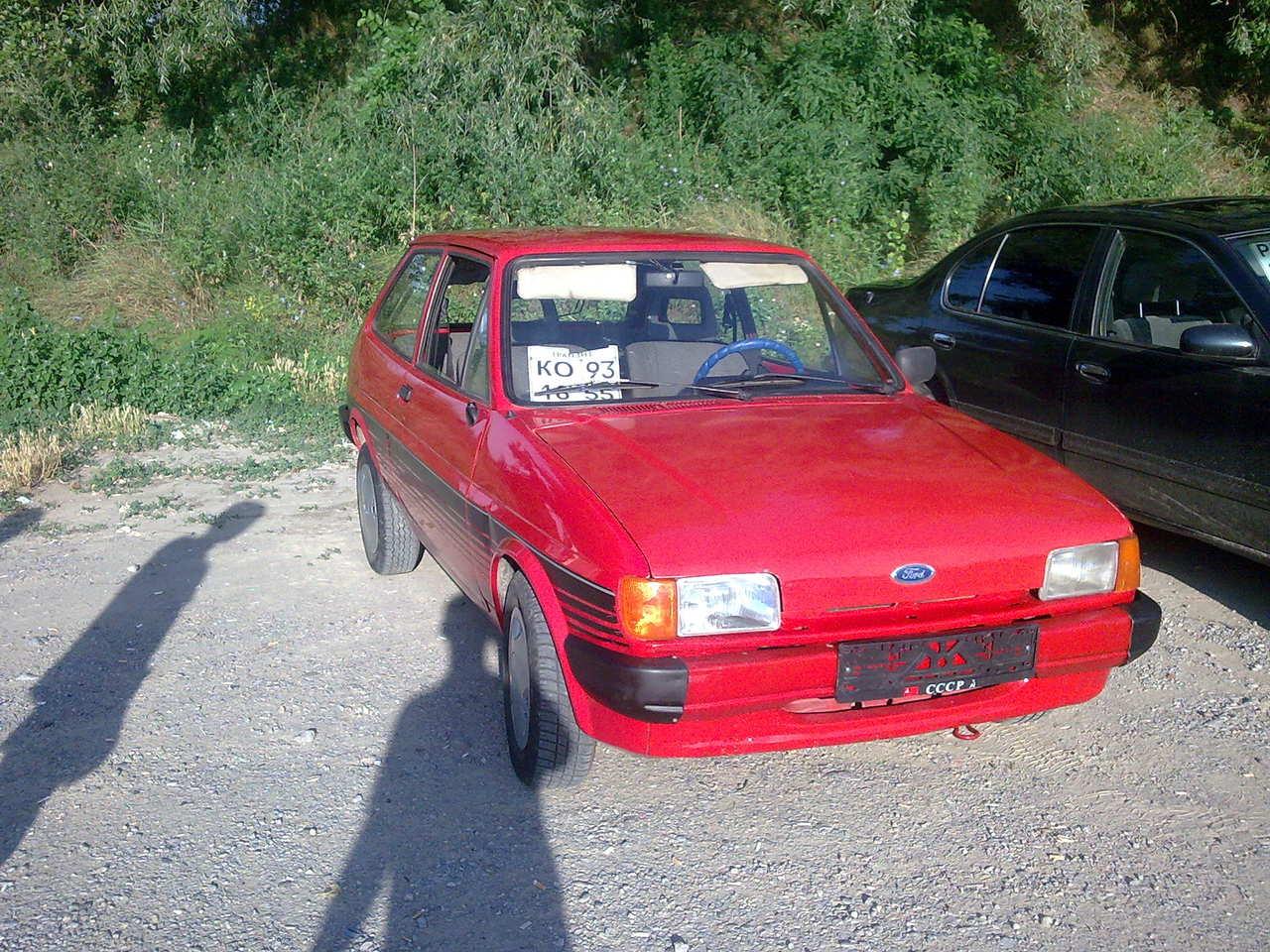 Ford Fiesta 1983 foto - 2