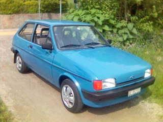 Ford Fiesta 1987 foto - 1