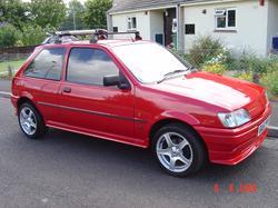 Ford Fiesta 1990 foto - 5