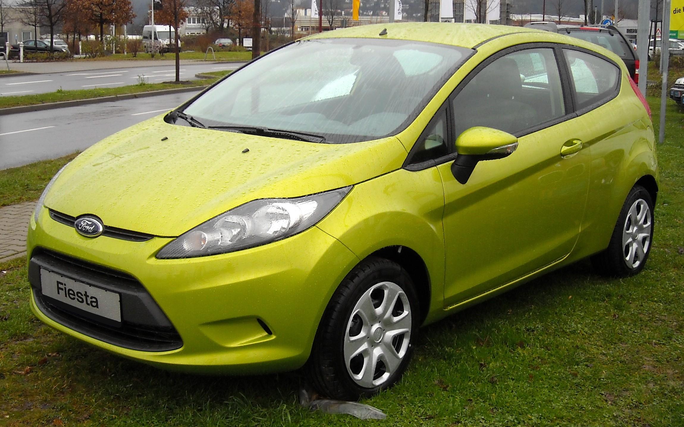 Ford Fiesta 2008 foto - 2