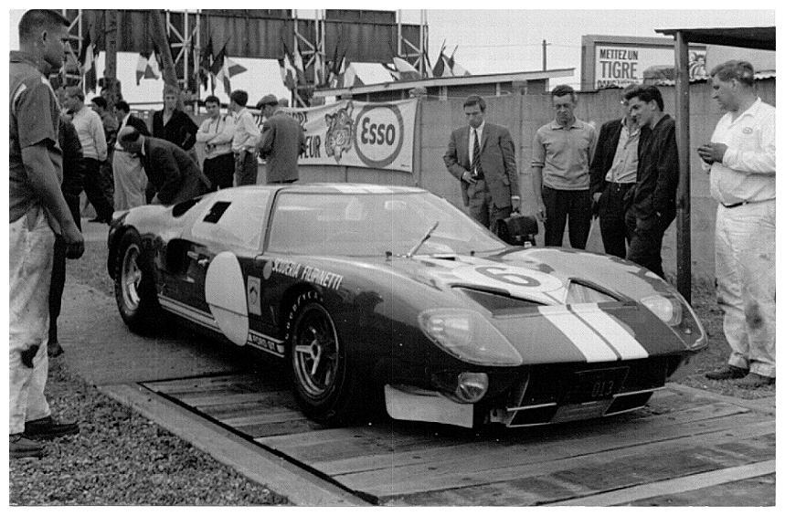Ford GT40 1965 foto - 5