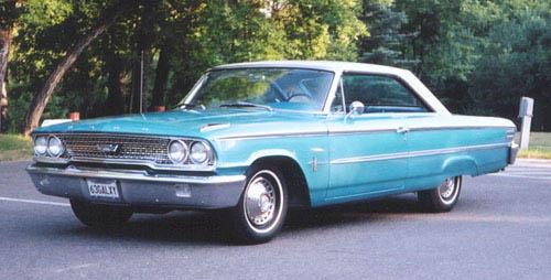 Ford Galaxie 1963 foto - 4