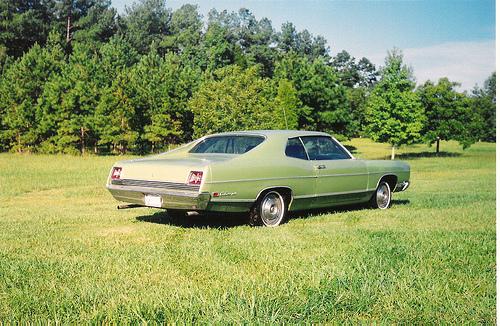 Ford Galaxy 1969 foto - 2