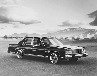 Ford Granada 1983 foto - 1