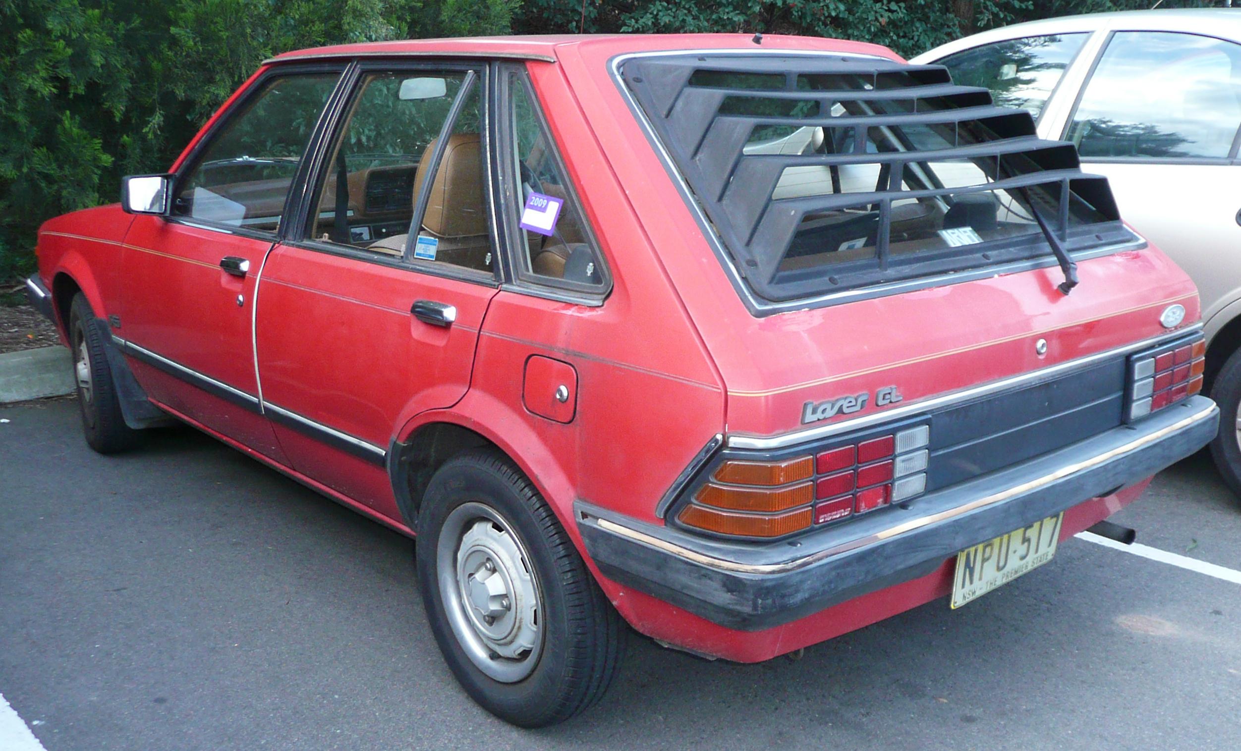 Ford Laser 1983 foto - 2