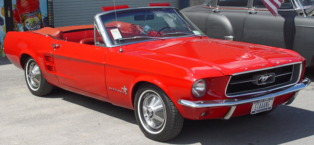 Ford Mustang 1963 foto - 1