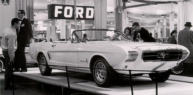 Ford Mustang 1963 foto - 2