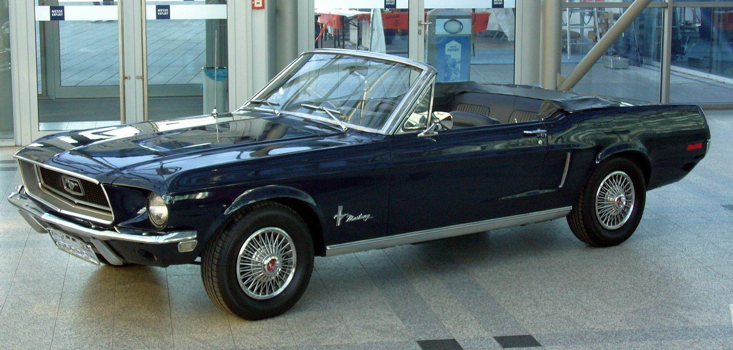 Ford Mustang 1968 foto - 4