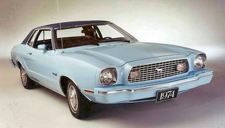 Ford Mustang 1974 foto - 1