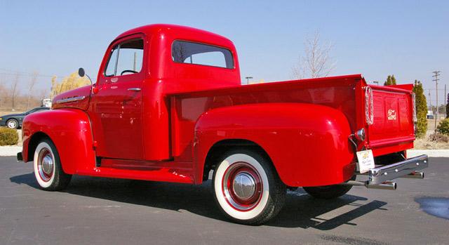 Ford Pickup 1951 foto - 3